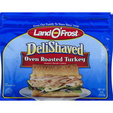 Land O'frost Deli Shaved Oven Roasted Turkey
