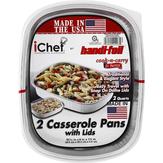 Handi-foil Ichef Casserole Pans With Lids