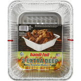 Handi Foil Extra Deep King Roaster/baker Pan