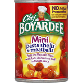 Chef Boyardee  Mini Pasta Shells & Meatballs