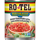 Ro-tel Diced Tomatoes, Lime & Cilantro, Mexican Style