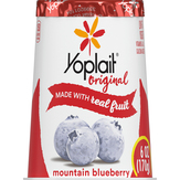 Yoplait Original Mountain Blueberry Low Fat...