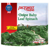Pictsweet Farms Deluxe Baby Leaf Spinach