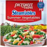 Pictsweet Farms Steam'ables Seasoned Summer Vegetables