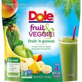Dole Fruit 'n Greens Fruit & Veggie Blends Drink