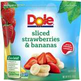Dole Strawberries And Bananas Ready-cut Fruit