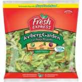 Fresh Express Iceberg Garden Bagged Salad
