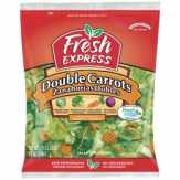 Fresh Express Double Carrots Bagged Salad