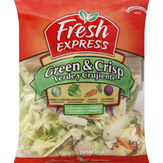 Fresh Express Green & Crisp Bagged Salad