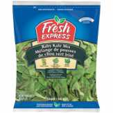 Fresh Express Baby Kale Mix Bagged Salad