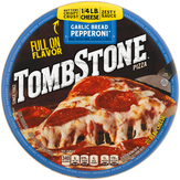 Tombstone Garlic Bread Pepperoni Pizza