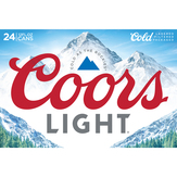 Coors Light 2 Stage Cold Activation Beer