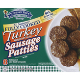 Tennessee Pride Turkey Sausage Patties