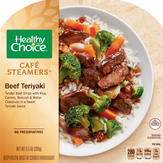 Healthy Choice  Cafe Steamers Beef Teriyaki