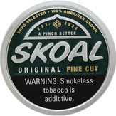 Skoal Fine Cut, Wintergreen Smokeless Tob...