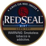 Red Seal Long Cut, Mint Smokeless Tobacco, Can