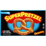 Superpretzel Superpretzel Soft Pretzels Baked - 6 Ct