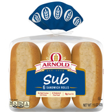 Arnold/brownberry Specialty Steak Rolls