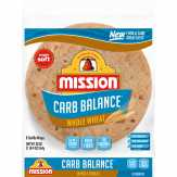 Mission Carb Balance Whole Wheat Tortillas