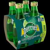 Perrier Carbonated Mineral Water, Lime