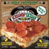 Screamin' Sicilian Pizza Co. Holy Pepperoni, Loaded Pan Pizza