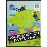 Top Flight Construction Paper Pad
