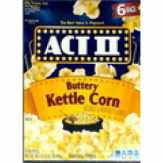 Act Ii  Buttery Kettlecorn Micorwave Popcorn