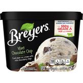 Breyers Ice Cream, Mint Chocolate Chip