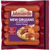 Johnsonville  Andouille Recipe Smoked Sausage New Orleans Brand - 6 Ct