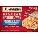 Jimmy Dean Sausage & Cheese Stuffed Hash Browns