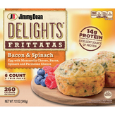 Jimmy Dean Bacon & Spinach - 6 Ct. D