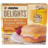 Jimmy Dean  Delights Honey Wheat Muffin Canadi...