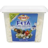 President  Crumbled Feta Cheese