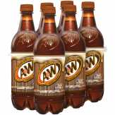 A&w Aged Vanilla Root Beer, 6 Pk.