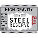 Steel Reserve High Gravity 12 Oz Lager