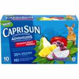 Caprisun Adventures Dragon Fruit Punch Juice Drink