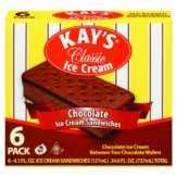 Kay's Classic Chocolate Ice Cream Sandwiches