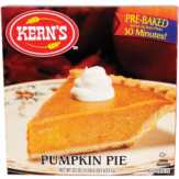 Kern's Pumpkin Pie