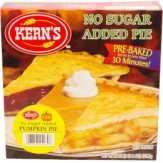 Kern's No Sugar Added Pumpkin Pie