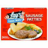 Lay's Classic Meats Sausage Patties