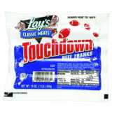 Lay's Classic Meats  Jumbo Touchdown Beef Franks