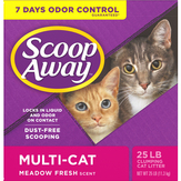 Scoop Away  Multi-cat With Ammonia Shield Scented Cat Litter