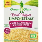 Green Giant Riced Veggies, Riced Cauliflower & Cheese Sauce