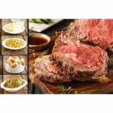 Holiday Meal Prime Rib Dinner