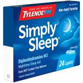 Tylenol Pm Simply Sleep Nighttime Sleep Aid, Box