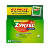 Zyrtec  Allergy 10mg Tablets - 14 Ct