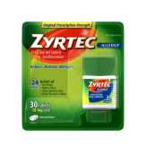 Zyrtec  Allergy 10mg Tablets - 30 Ct