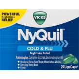 Vicks  Nighttime Relief Acetaminophen Liq...