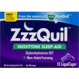 Zzzquil  Nighttime Sleep-aid Liquicaps - 12 Ct