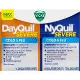 Vdq/nq Severe 24ct Bndle Cmbo Pk Dayquil Nyquil Severe Cold & Flu
